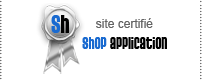 Un site s�curis� et s�r, install� par Shop application